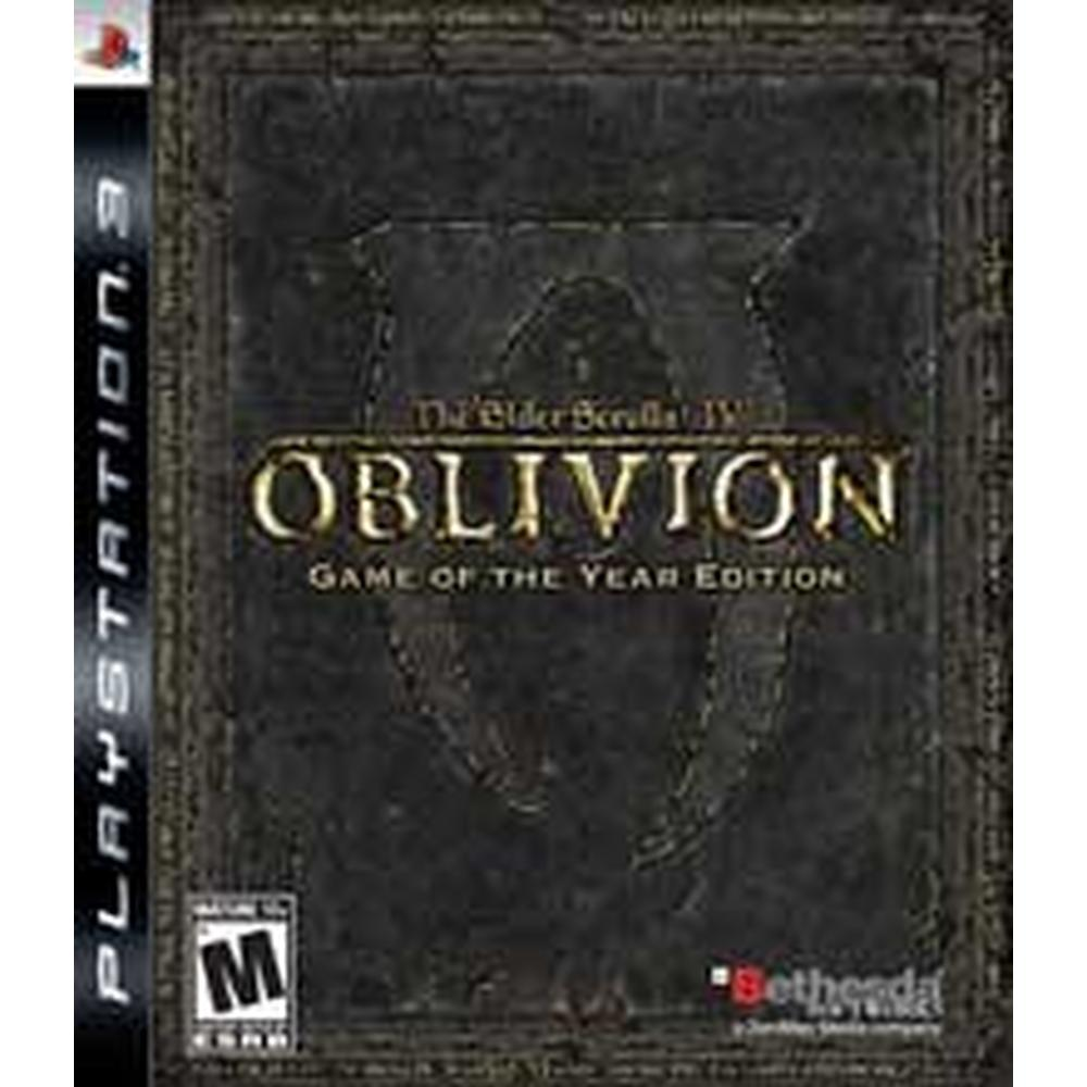 The Elder Scrolls IV: Oblivion Game Of The Year Edition | PlayStation 3 |  GameStop