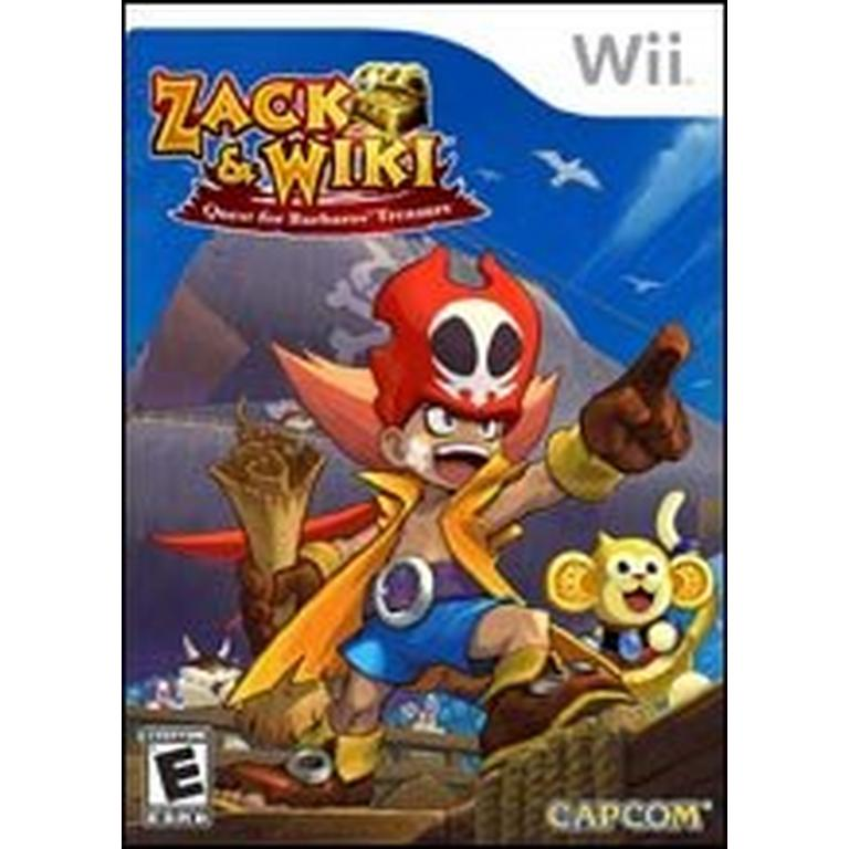 Zack and Wiki: Quest for Barbaros' Treasure