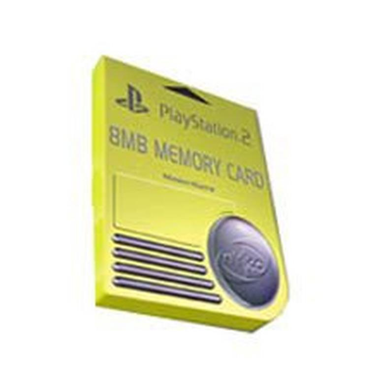 Memory Card 8MB for PlayStation 2 (Assortment)