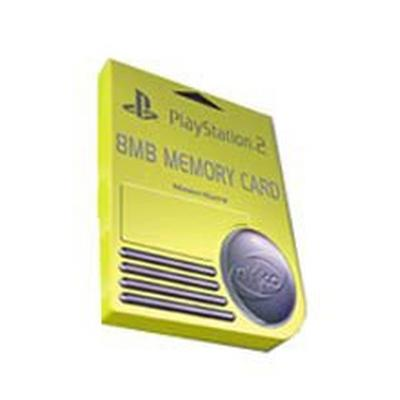 PlayStation 2 8 Meg Memory Card (Assortment)