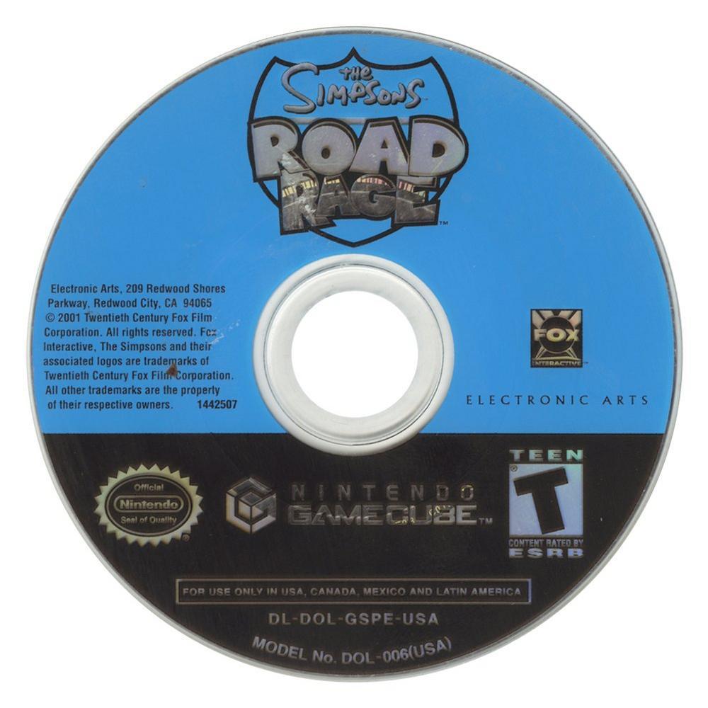 The Simpsons: Road Rage   Game Cube   GameStop