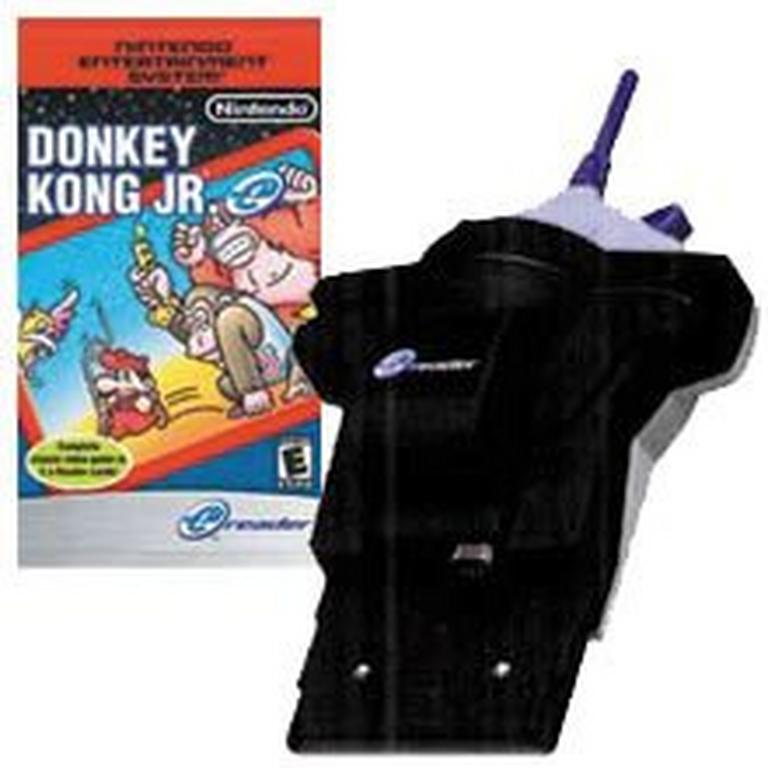 Game Boy Advance e-Reader with Donkey Kong Jr.