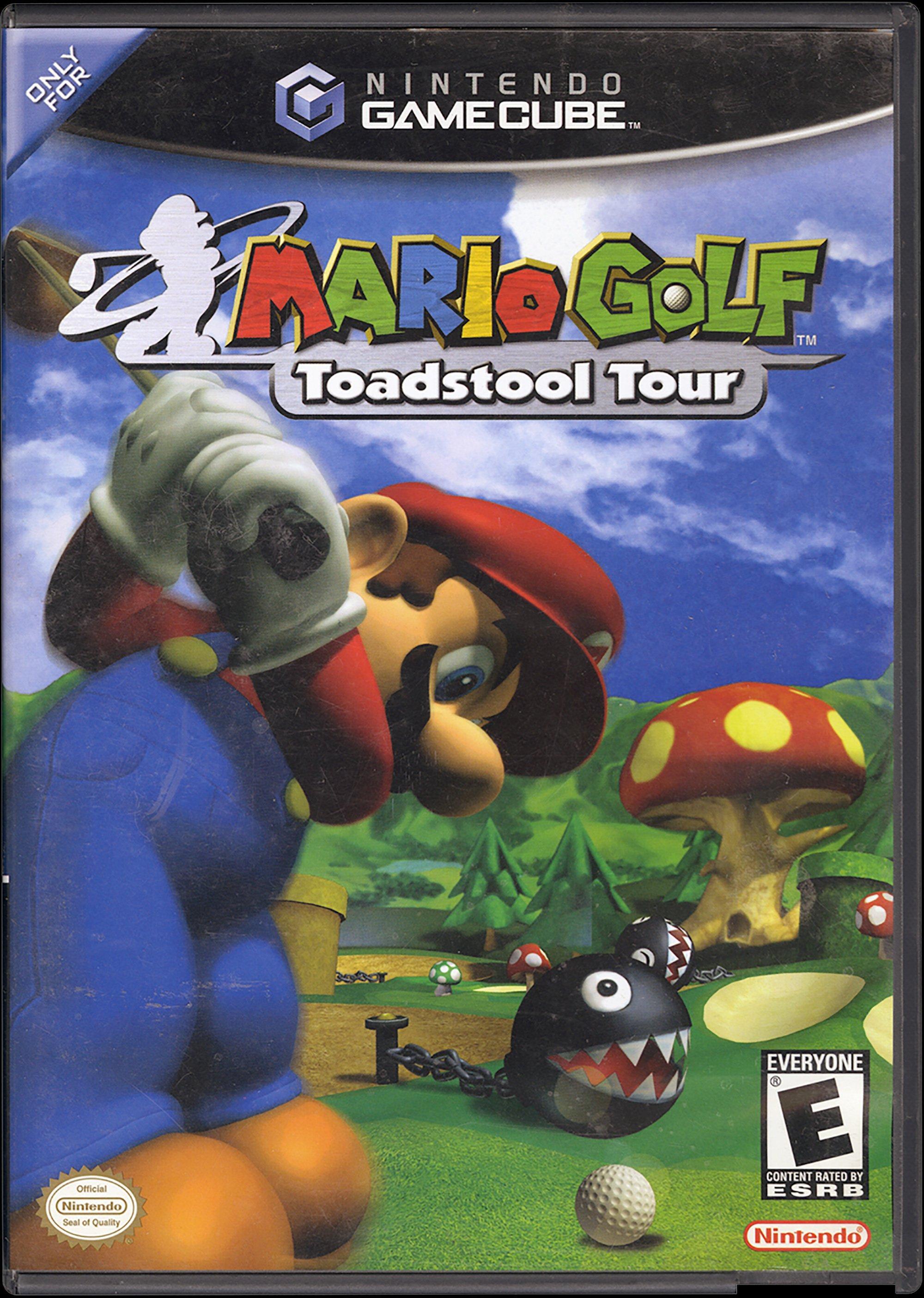 Mario Golf Toadstool Tour Game Cube Gamestop