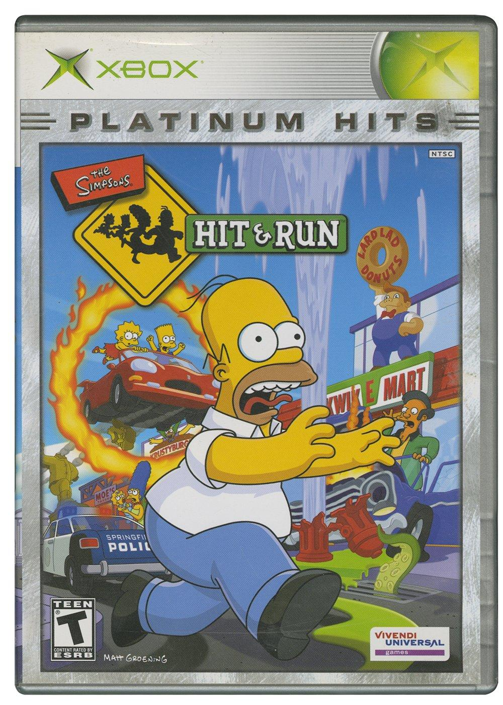 The Simpsons Hit And Run Xbox Gamestop