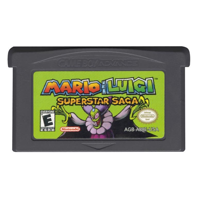 Mario Luigi Superstar Saga Game Boy Advance Gamestop
