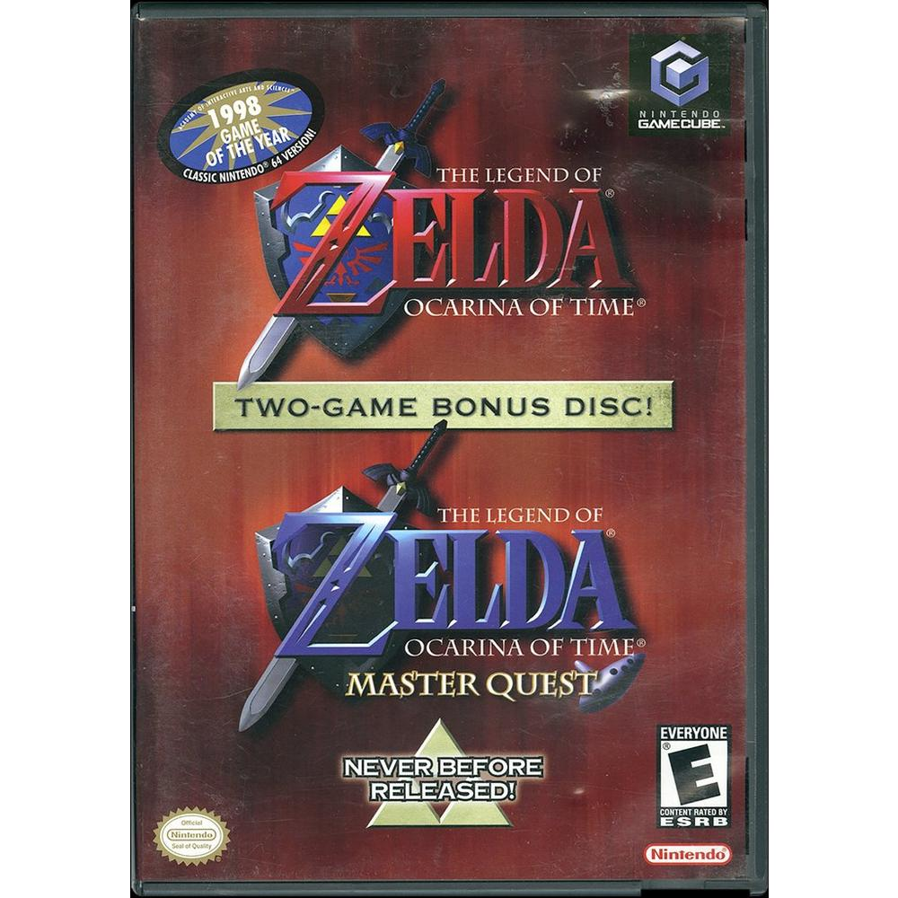 The Legend of Zelda: Ocarina of Time & Master Quest | Game Cube | GameStop