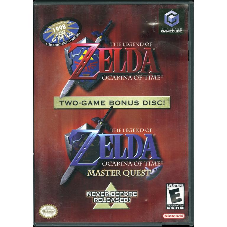 The Legend of Zelda: Ocarina of Time and Master Quest
