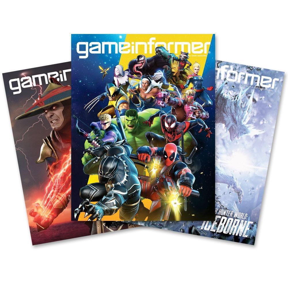 Game Informer Subscription 12 Month Gamestop