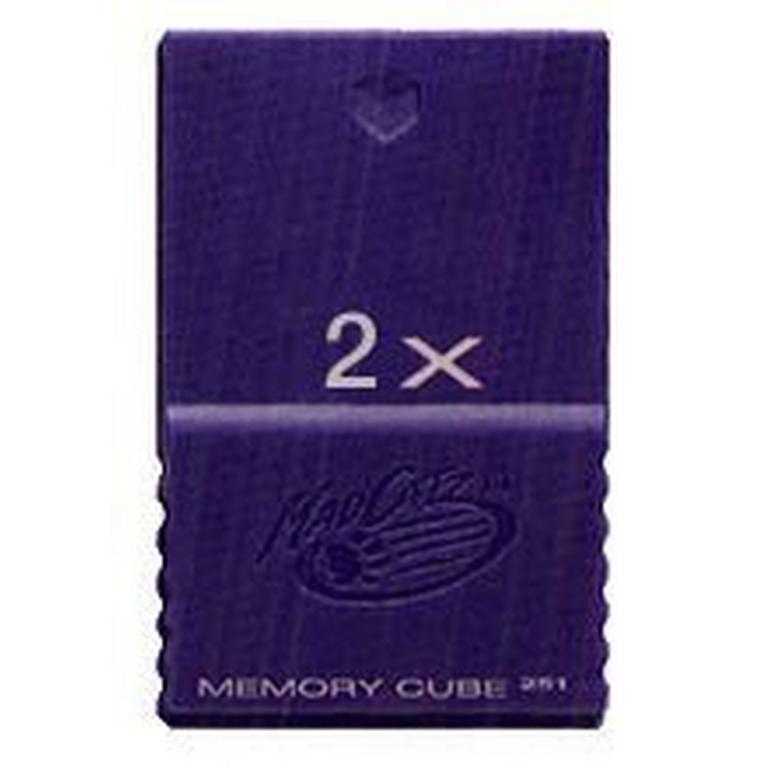 GameCube Memory Card 2x (Assortment)