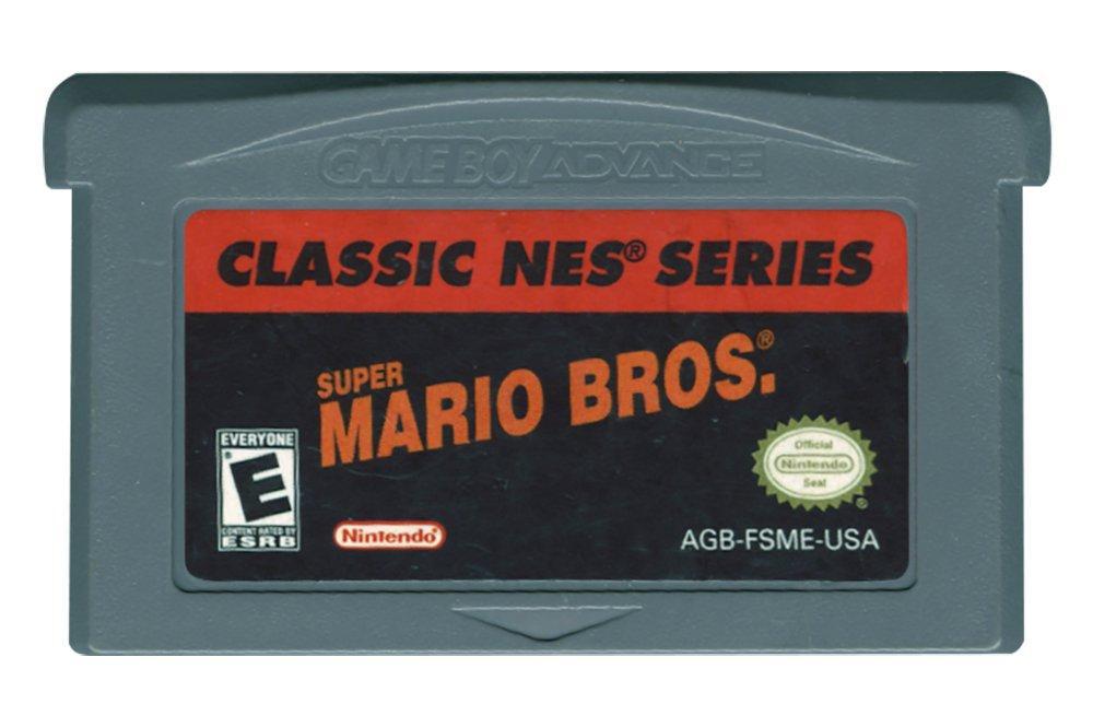 Classic Nes Series Super Mario Bros Game Boy Advance Gamestop