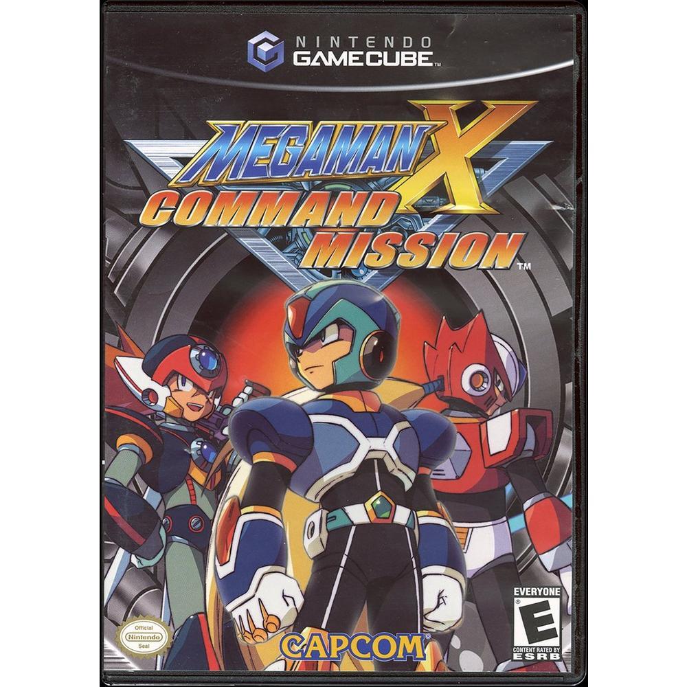 Mega Man X Command Mission   Game Cube   GameStop