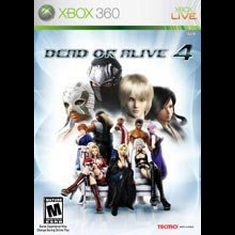 Dead Or Alive 4 Xbox 360 Gamestop