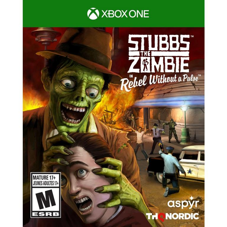Stubbs The Zombie In Rebel Without A Pulse Xbox Gamestop