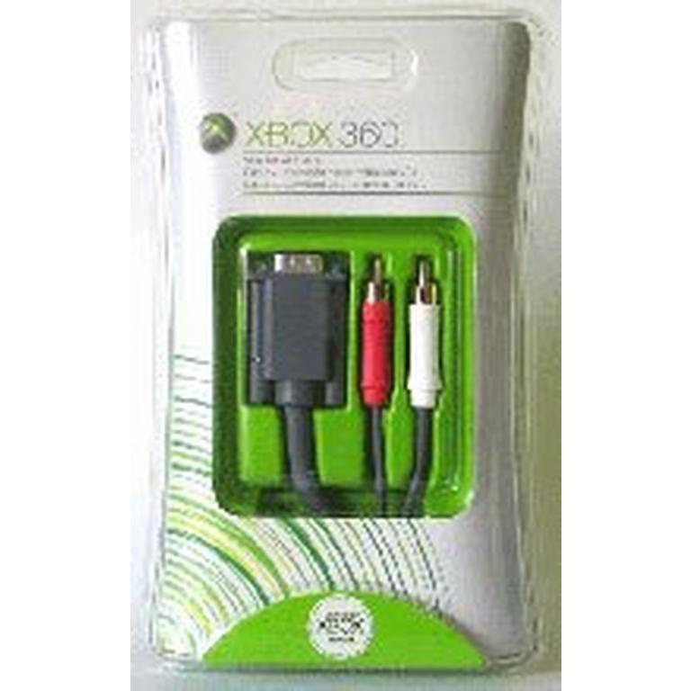 Xbox 360 VGA HD/AV Cable
