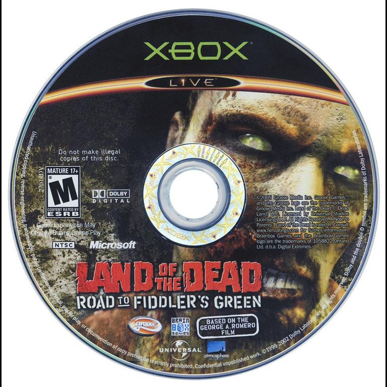 Land of the Dead: The Road to Fiddler's Green