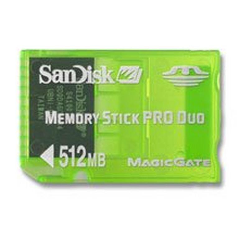 PSP Memory Duo 512MB