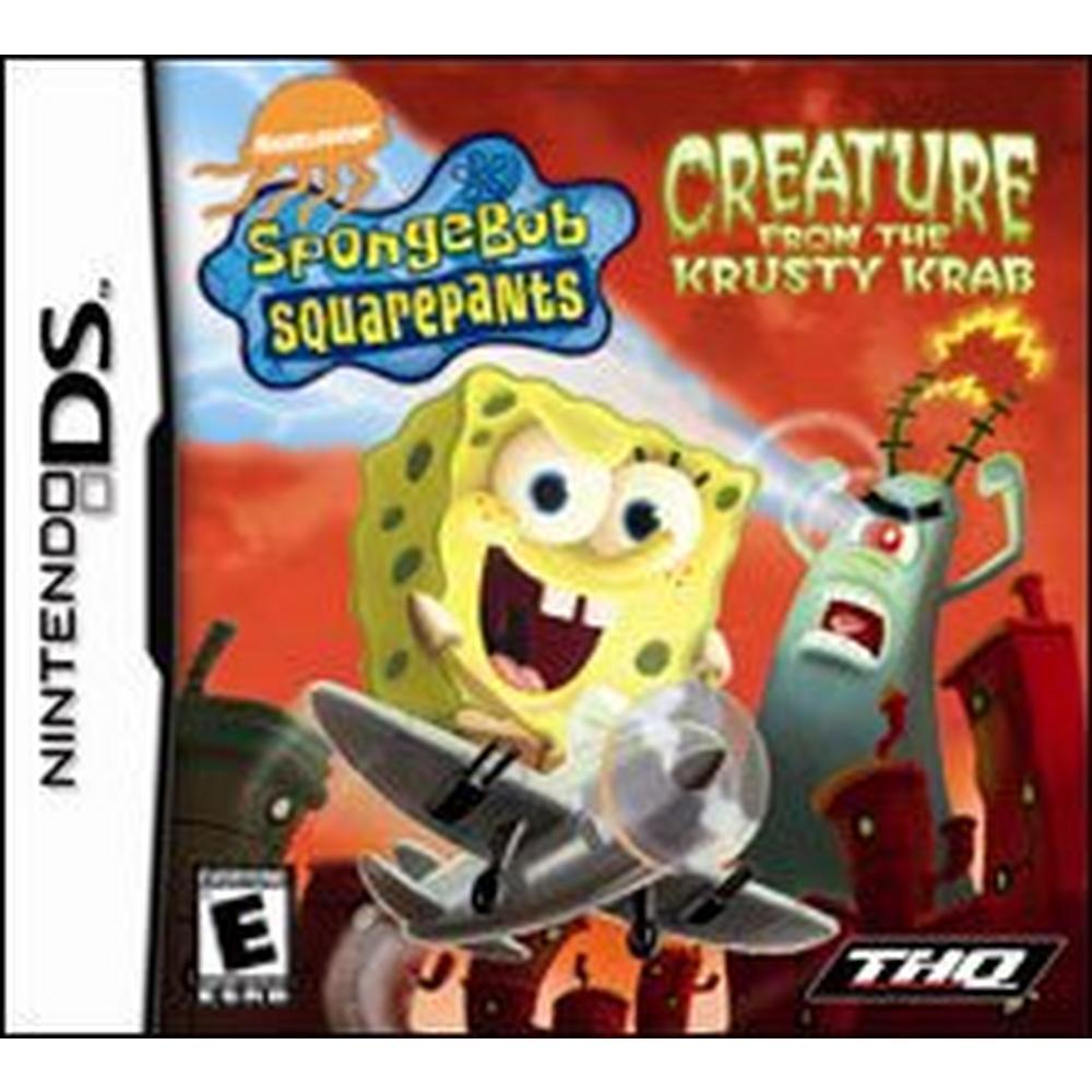 SpongeBob SquarePants: Creature From the Krusty Krab | Nintendo DS |  GameStop