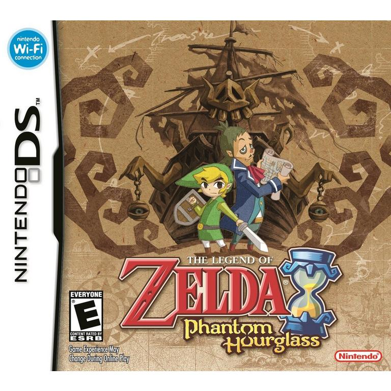 The Legend Of Zelda Phantom Hourglass Nintendo Ds Gamestop