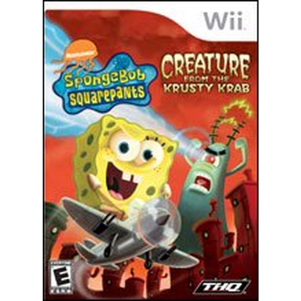 SpongeBob SquarePants: Creature From the Krusty Krab | Nintendo Wii |  GameStop