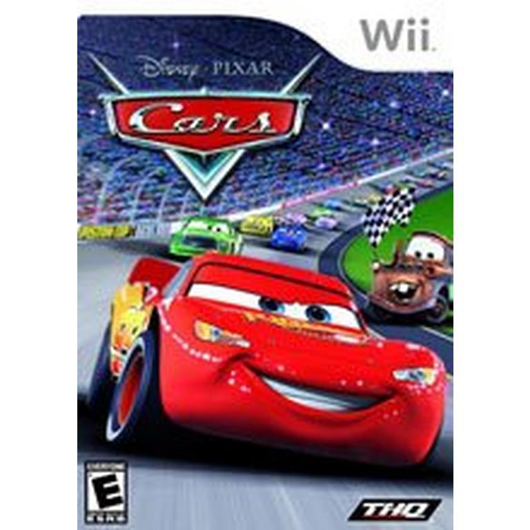 Red Car Game >> Cars Nintendo Wii Gamestop