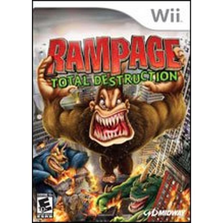 Rampage Total Destruction Nintendo Wii Gamestop