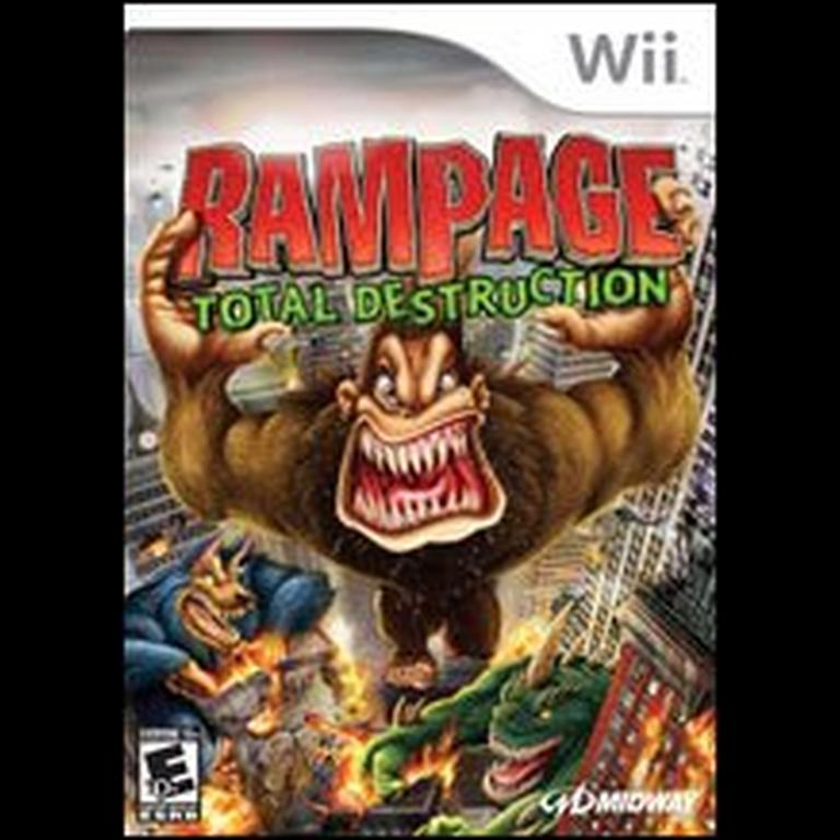 Rampage Total Destruction Nintendo Wii Gamestop