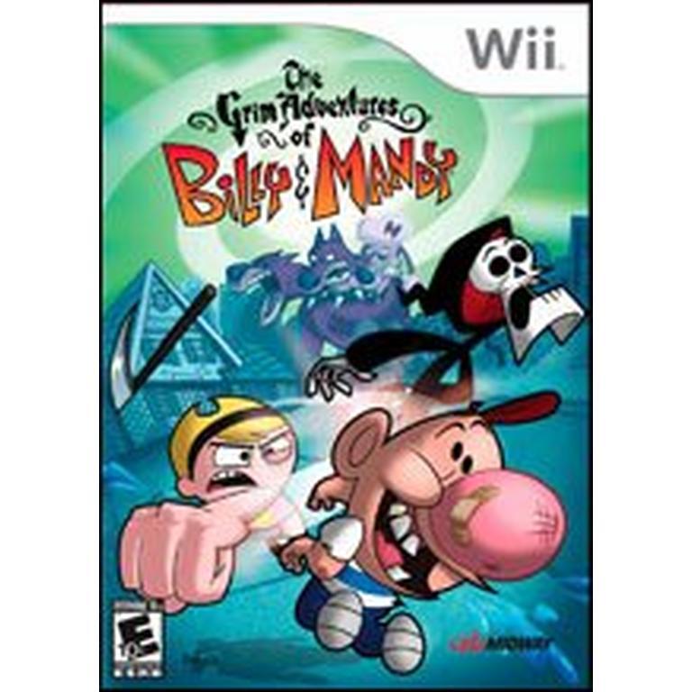 Grim Adventures of Billy & Mandy  Nintendo Wii  GameStop