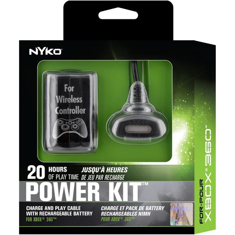 Nyko Xbox 360 Power Kit