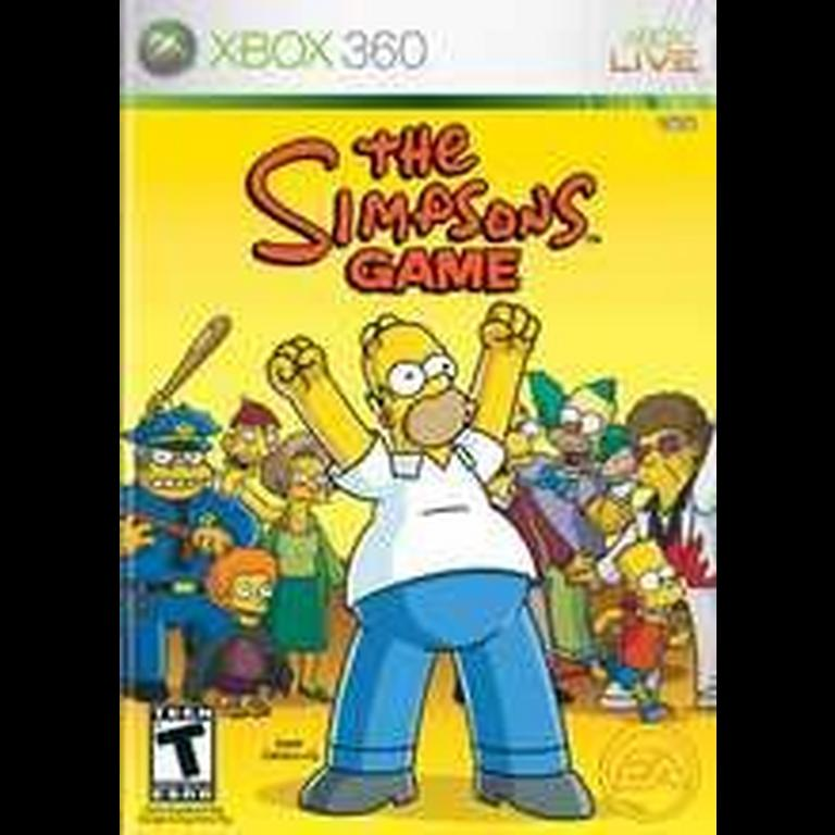 The Simpsons Game Xbox 360 Gamestop