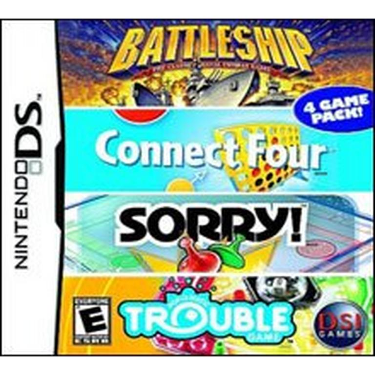 Battleship, Connect Four, Sorry!, Trouble