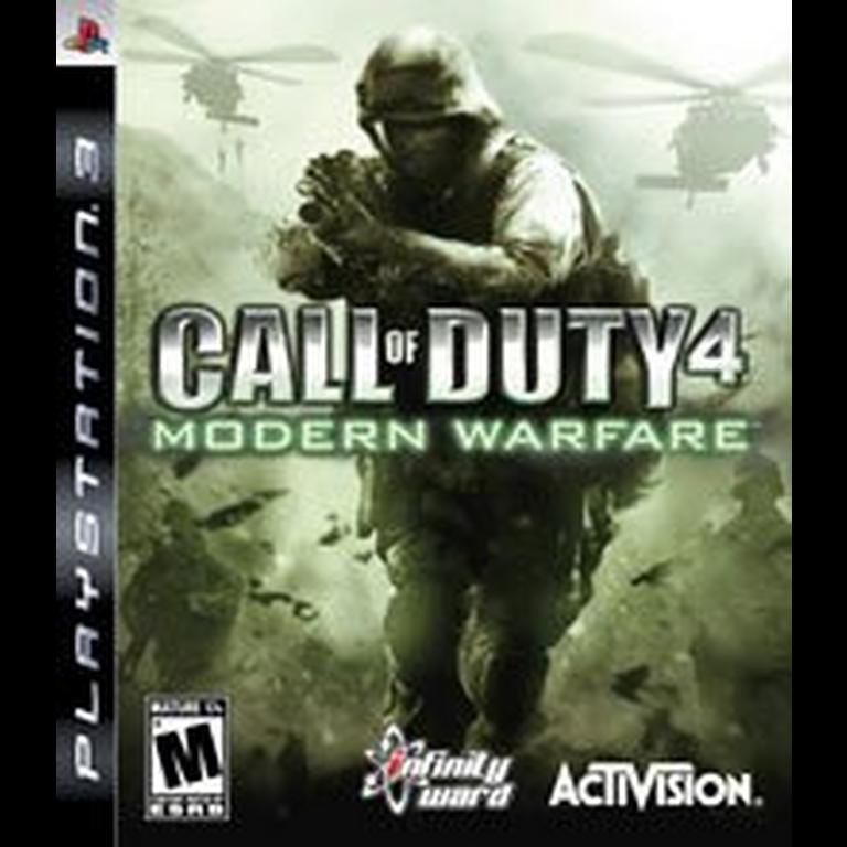 Call Of Duty 4 Modern Warfare Playstation 3 Gamestop