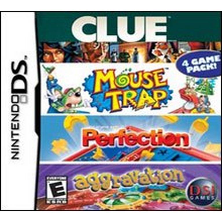 Clue, Mouse Trap, Perfection, Aggravation