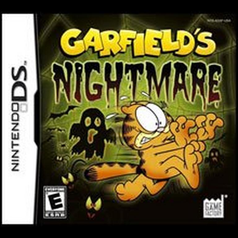 Garfield S Nightmare Nintendo Ds Gamestop