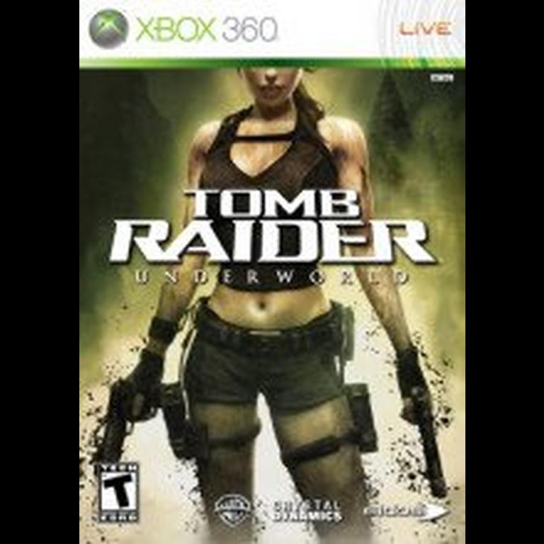 Tomb Raider Underworld Xbox 360 Gamestop