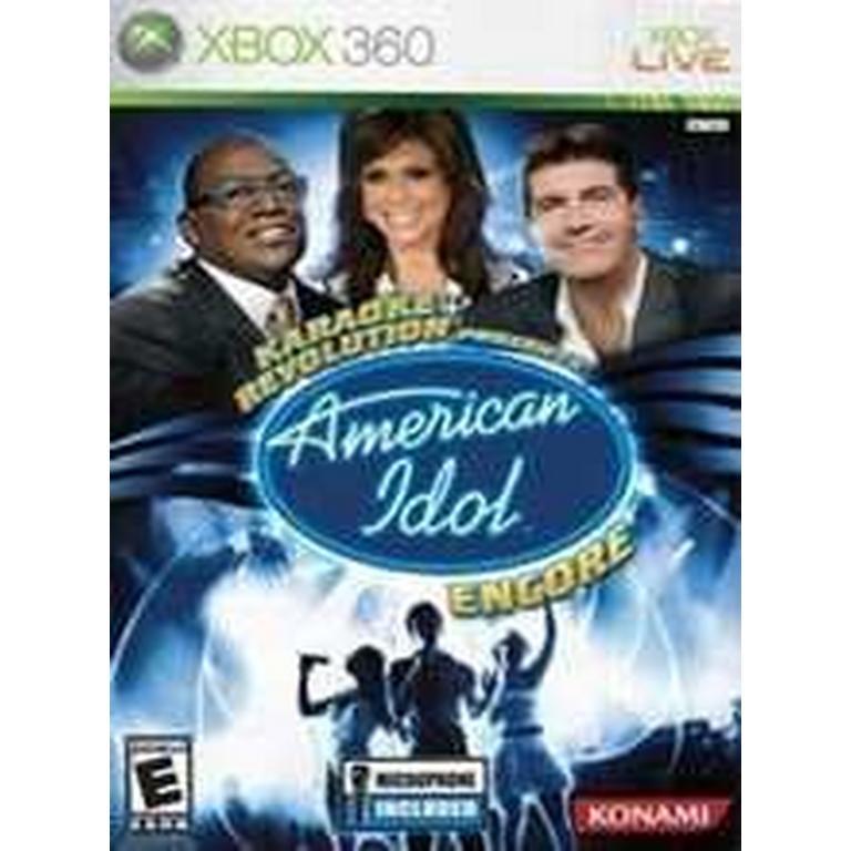 Karaoke Revolution Presents: American Idol Encore - Game Only
