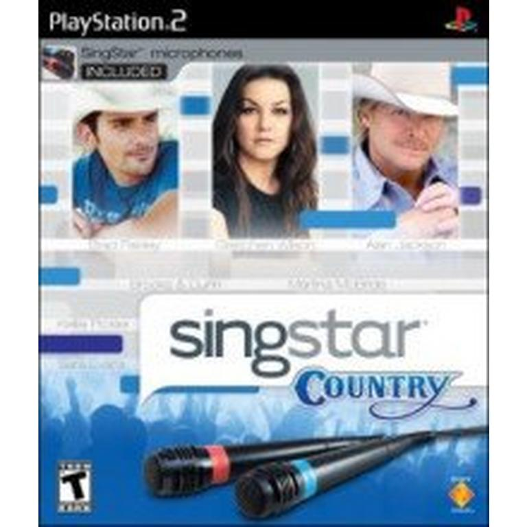 SingStar Country with 2 Microphones