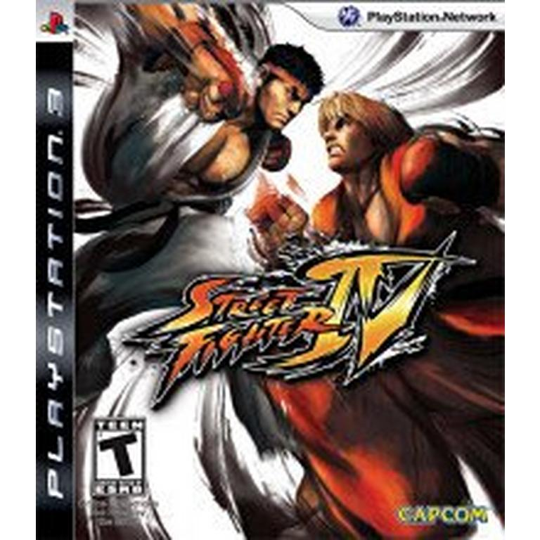 Street Fighter Iv Playstation 3 Gamestop