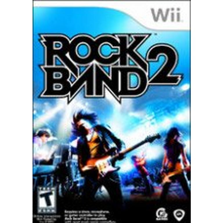 Rock Band 2 - Game Only | Nintendo Wii | GameStop