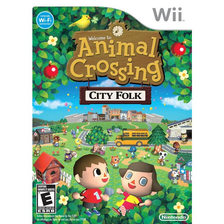 Animal Crossing: City Folk - Game Only