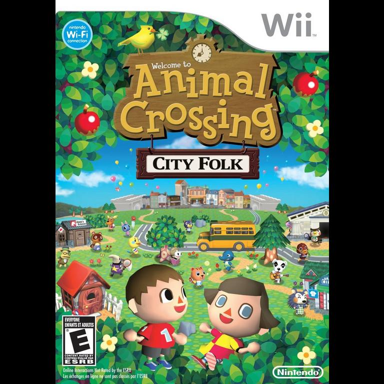 Animal Crossing: City Folk (Game Only)