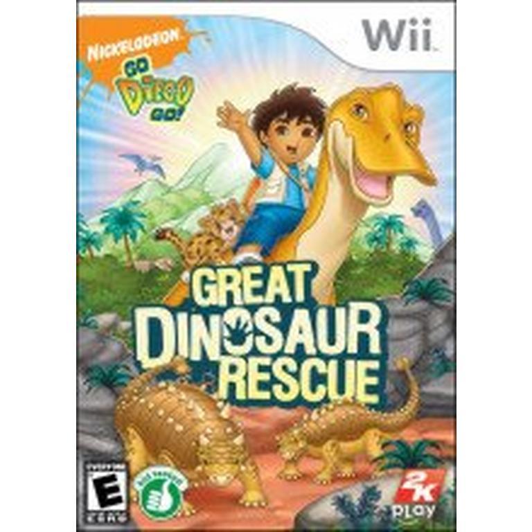 Go Diego Go!: Great Dinosaur Rescue