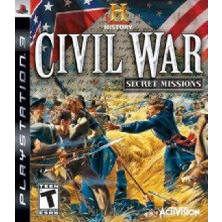 History Channel Civil War: Secret Mission