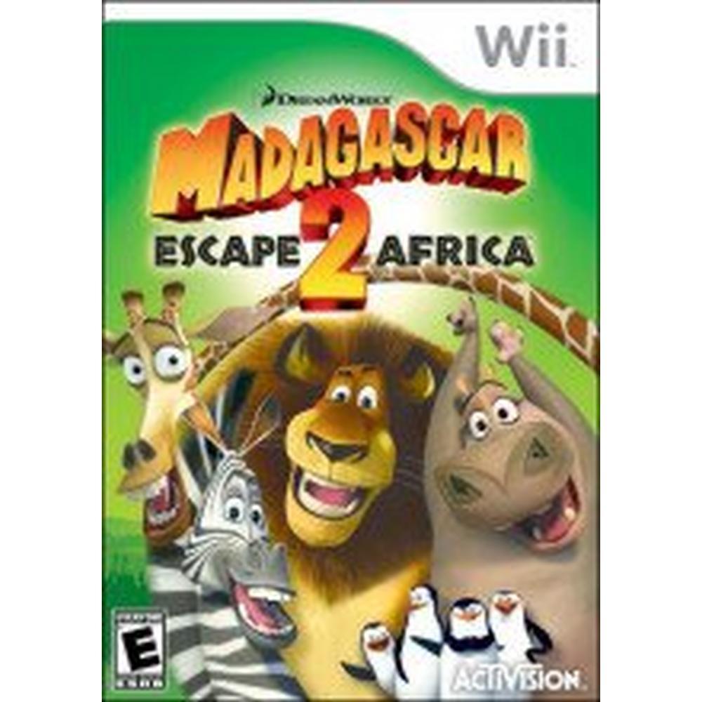 Madagascar Escape 2 Africa Nintendo Wii Gamestop