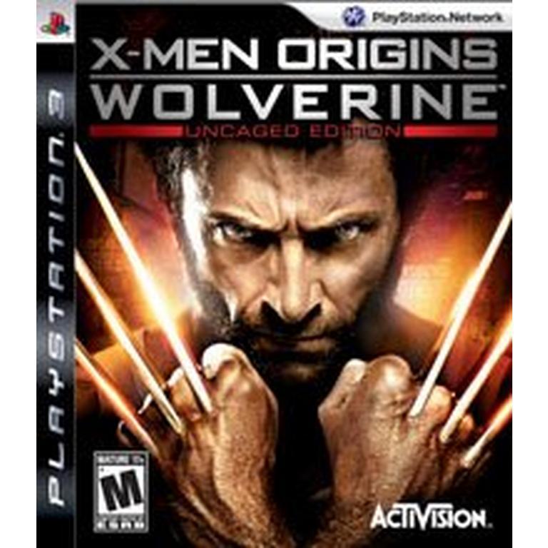 X-Men Origins: Wolverine Uncaged Edition