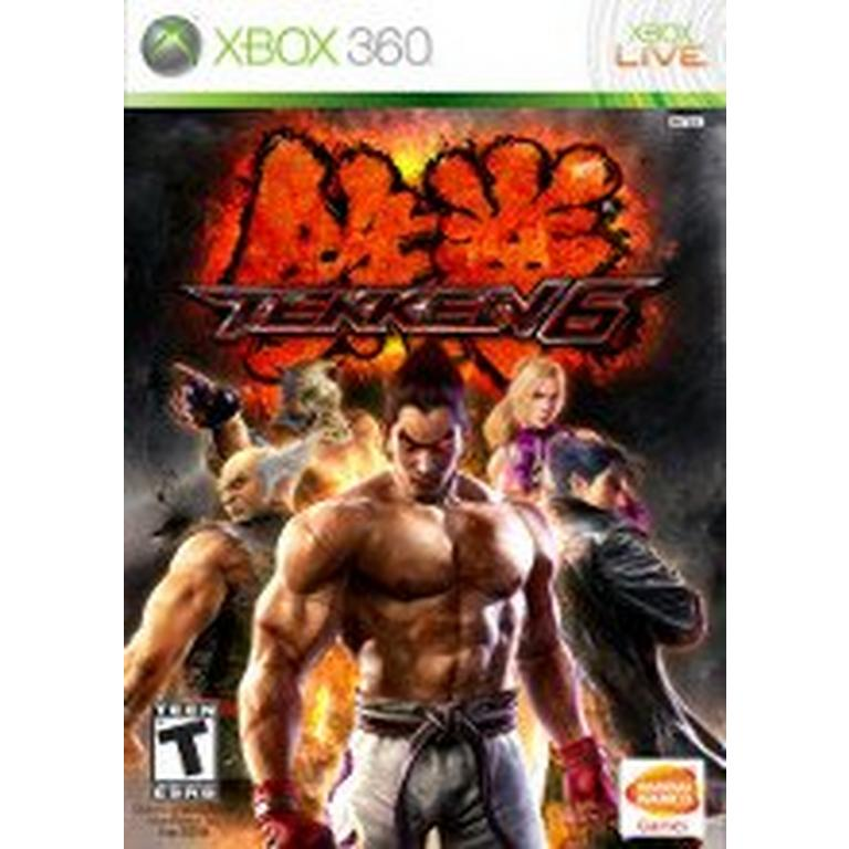 Tekken 6 Xbox 360 Gamestop