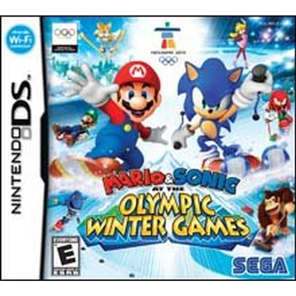 Mario & Sonic at the Winter Olympic Games | Nintendo DS | GameStop