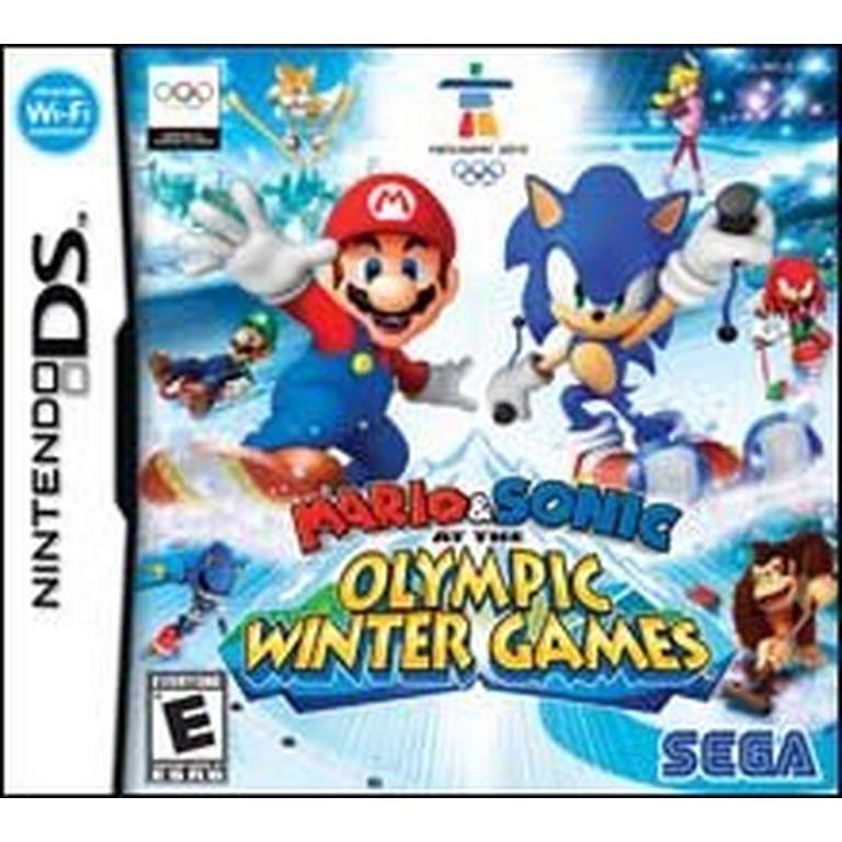 Mario and Sonic at the Winter Olympic Games