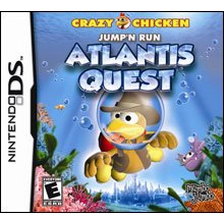Crazy Chicken: Atlantis Quest