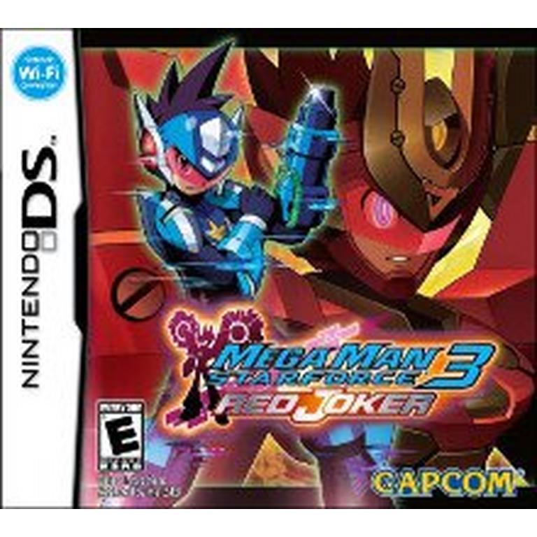 Mega Man Star Force 3 Red Joker
