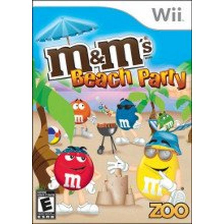 M and M's Beach Party